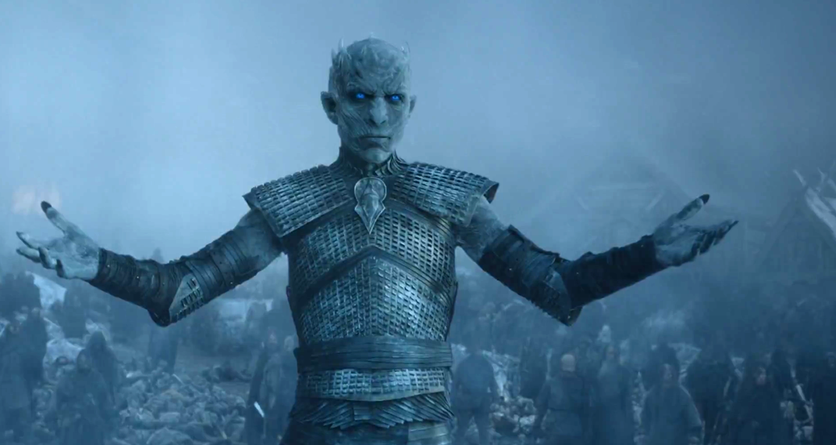 The Night King from HBO's  Game of Thrones .