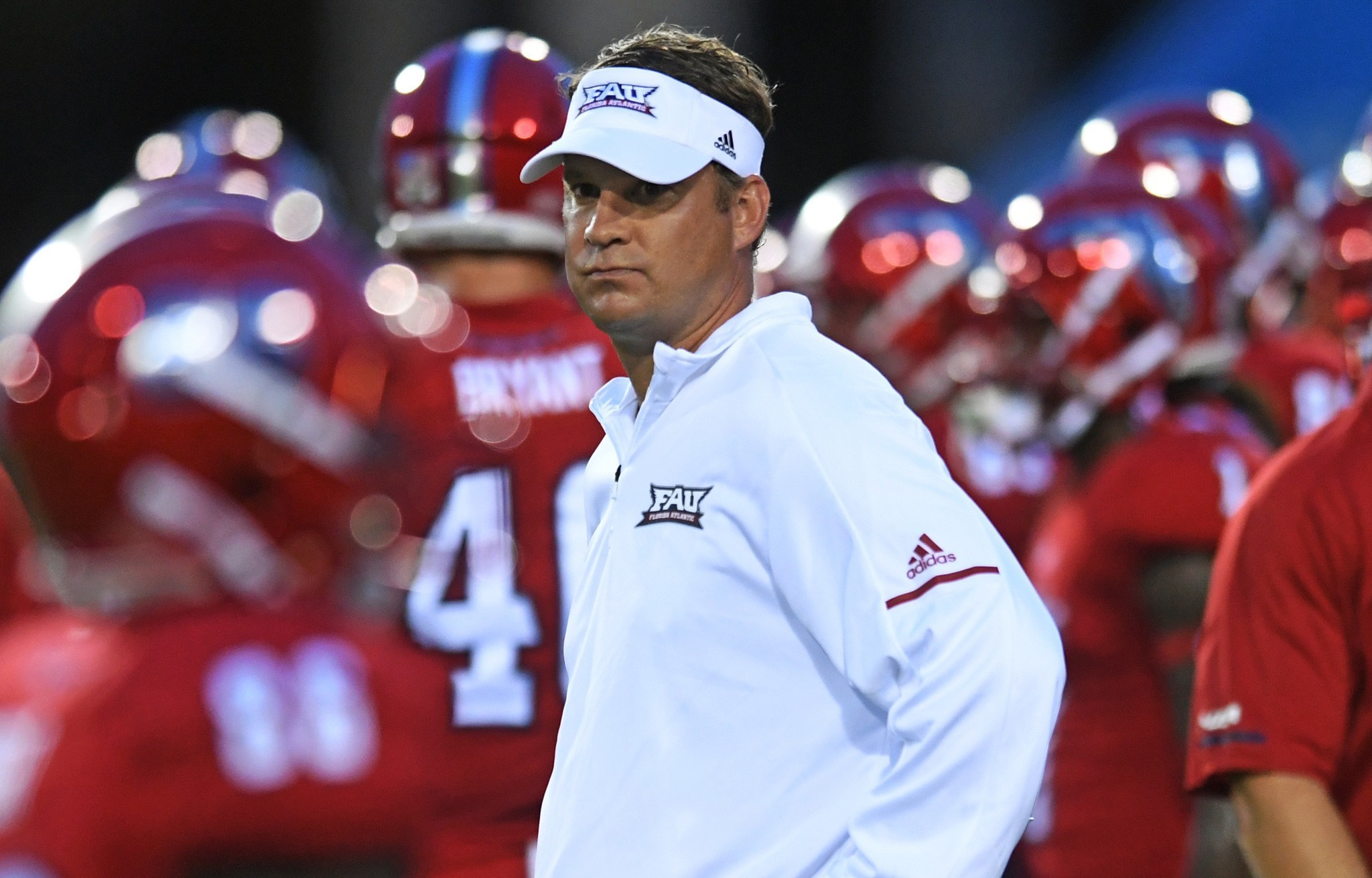 With wisdom gained from reading  Determined Look: Life Lessons of a Youth Football Coaching , Lane Kiffin will take the FAU Owls to unprecedented heights.