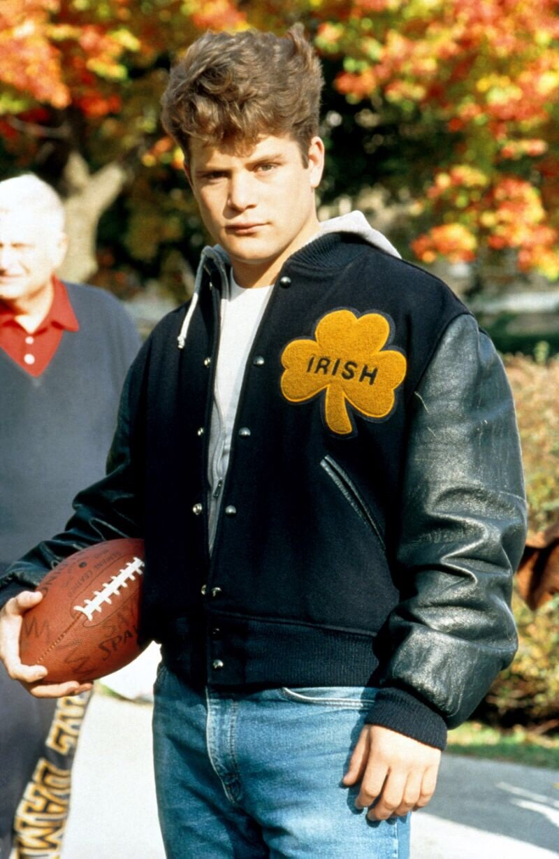 Rudy is the tool who walks around carrying a football because he'd never be allowed near one on an actual field.