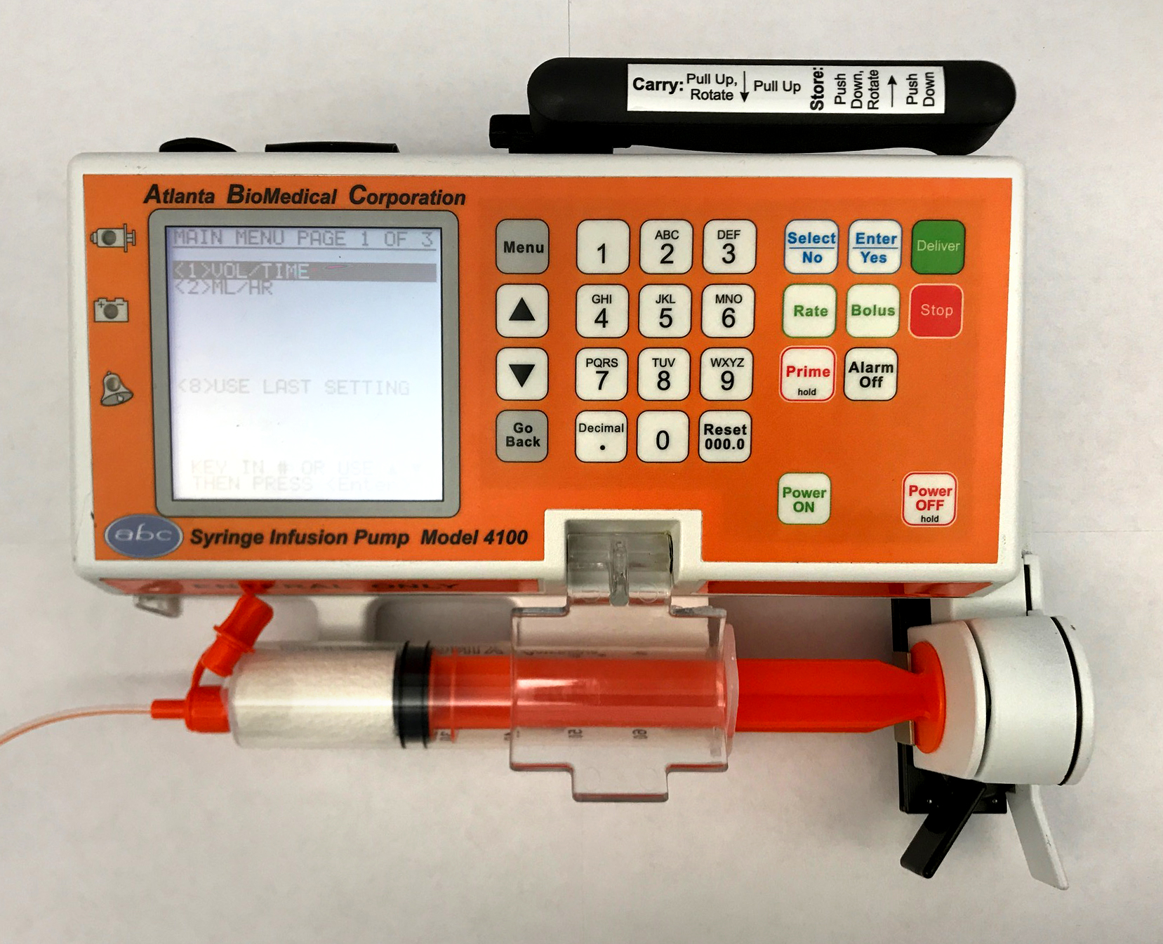 Model 4100 in Enteral Orange -