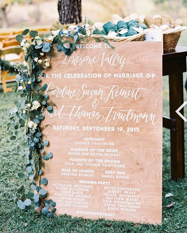 Good morning!  Spot calligraphy anyone? @rroseevents put together this sign with just a dash of my calligraphy.  Wedding signage is a great way to personalize an event and, good news, calligraphy can be emailed to you for use! #weddingdetails #calligraphy