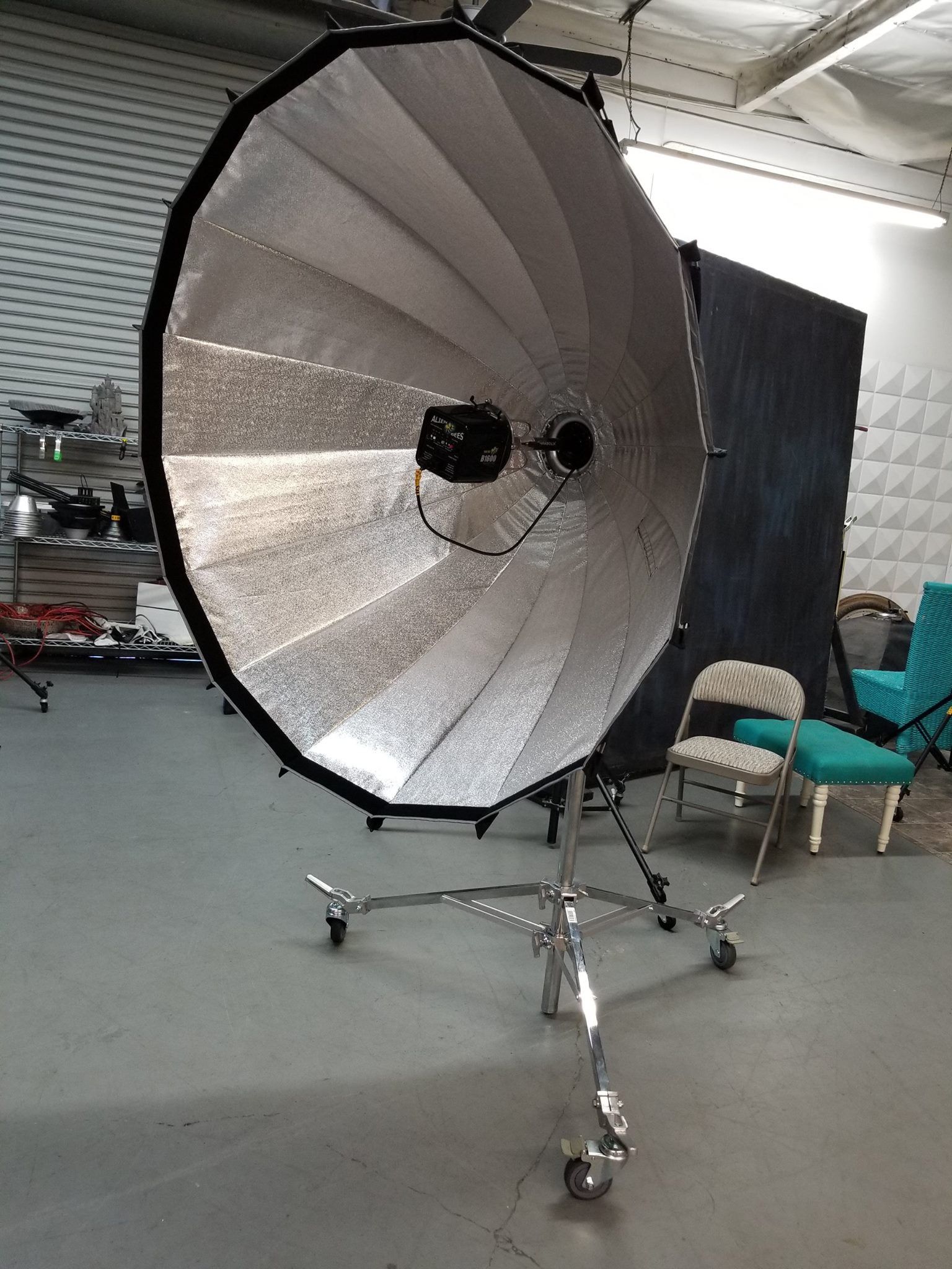 The 55 is great for full body and group shoots! ( Located in Studio A )