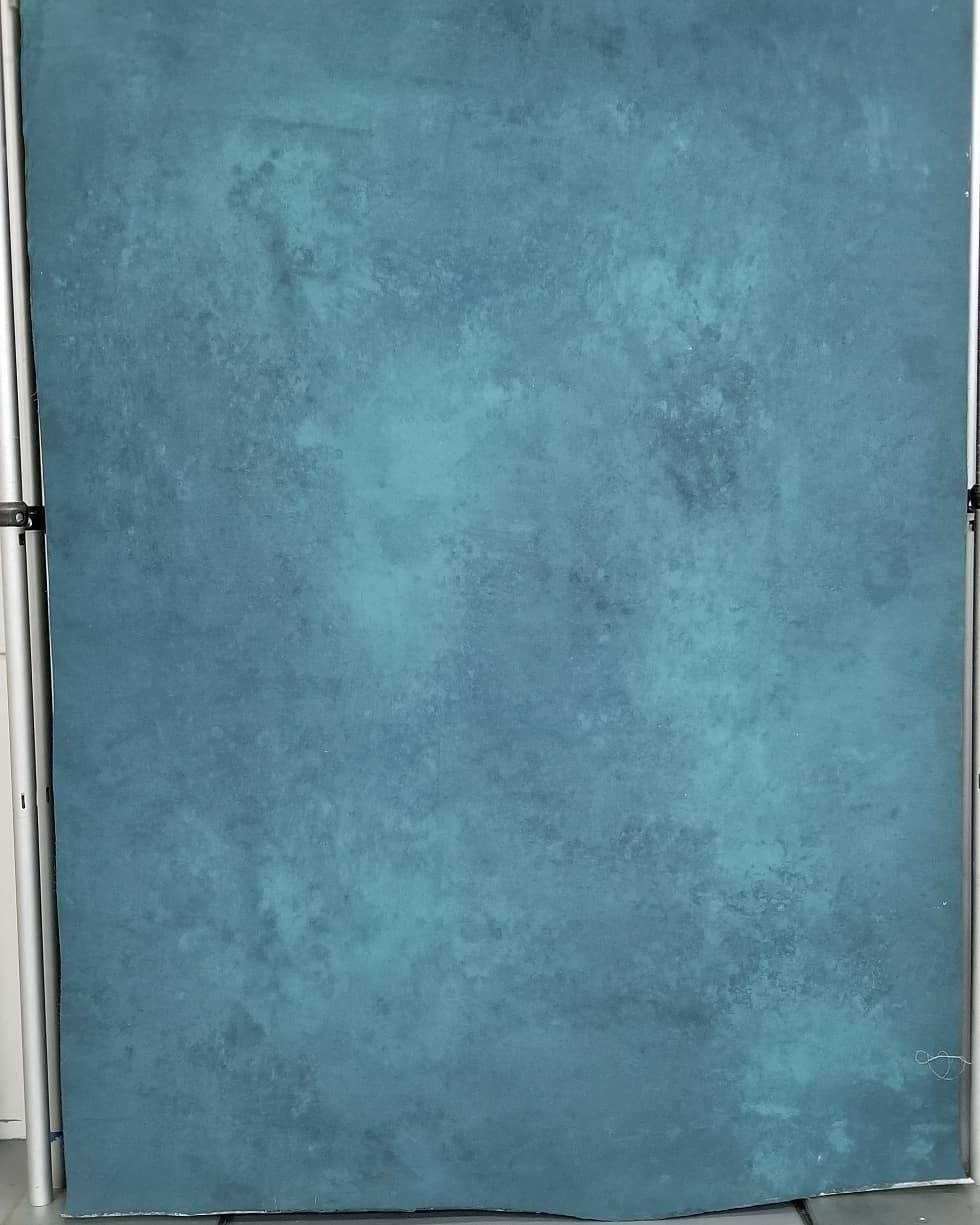 Neutral Blue Canvas Backdrop