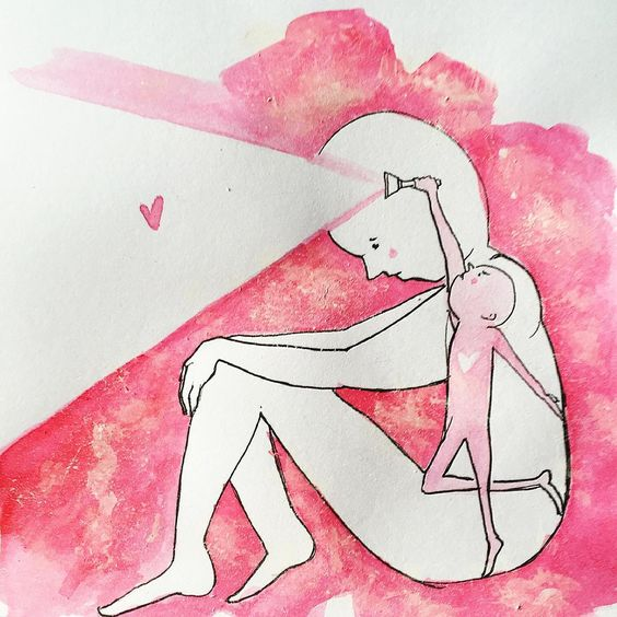"""""""When you're perplexed by the complexity of your own body and search for love outside yourself."""""""