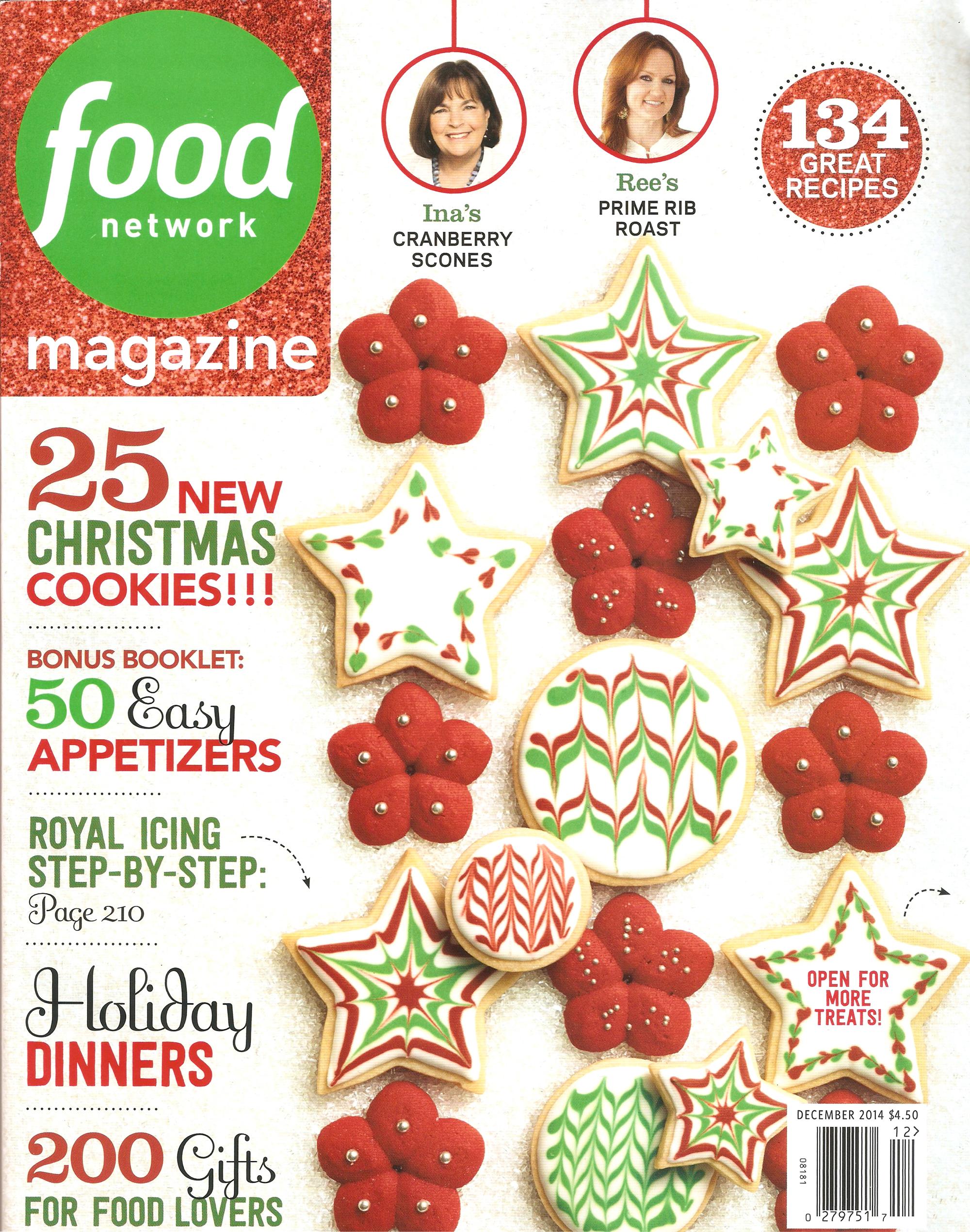 FOOD NETWORK MAGAZINE - December 2014