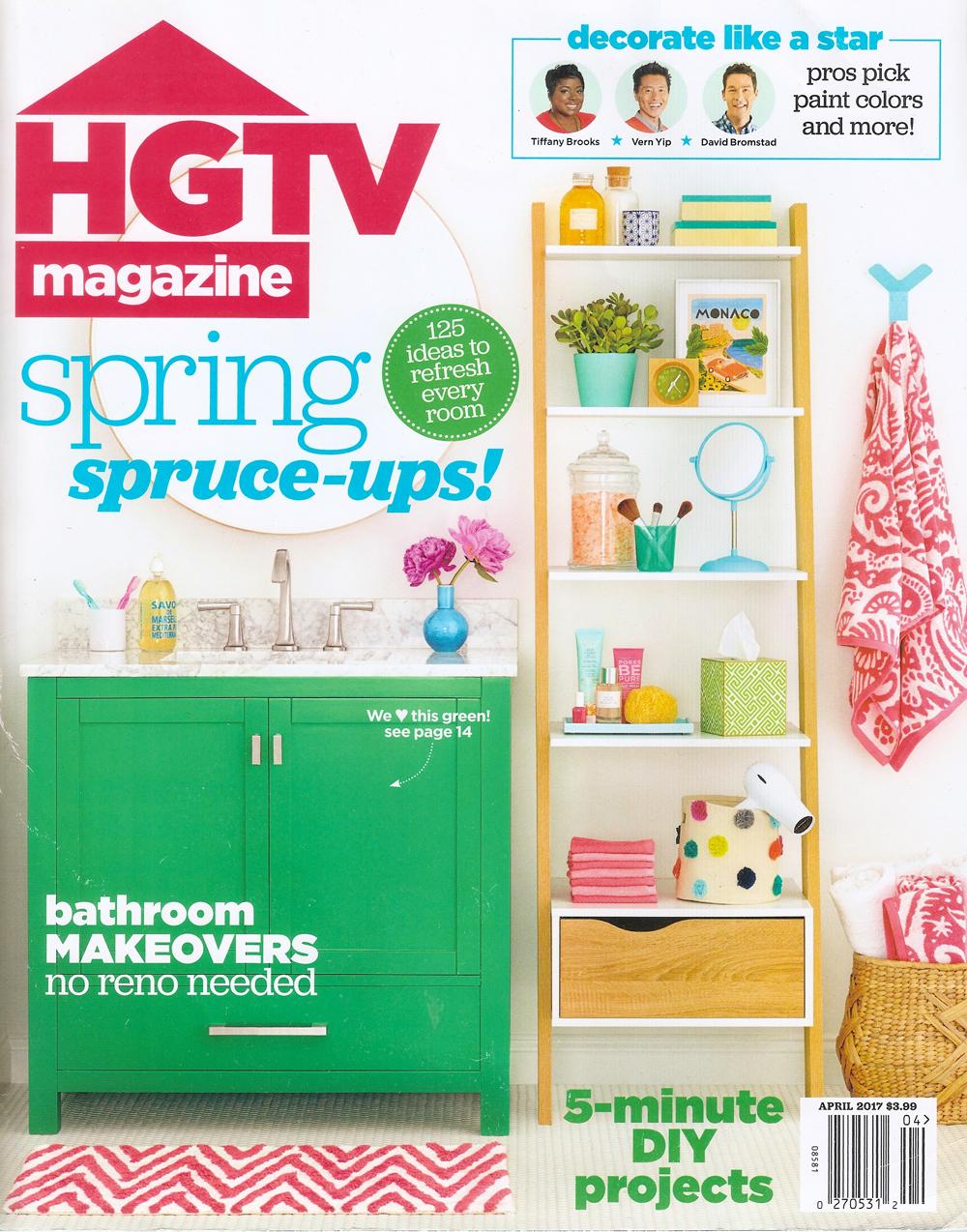 HGTV MAGAZINE - April 2017