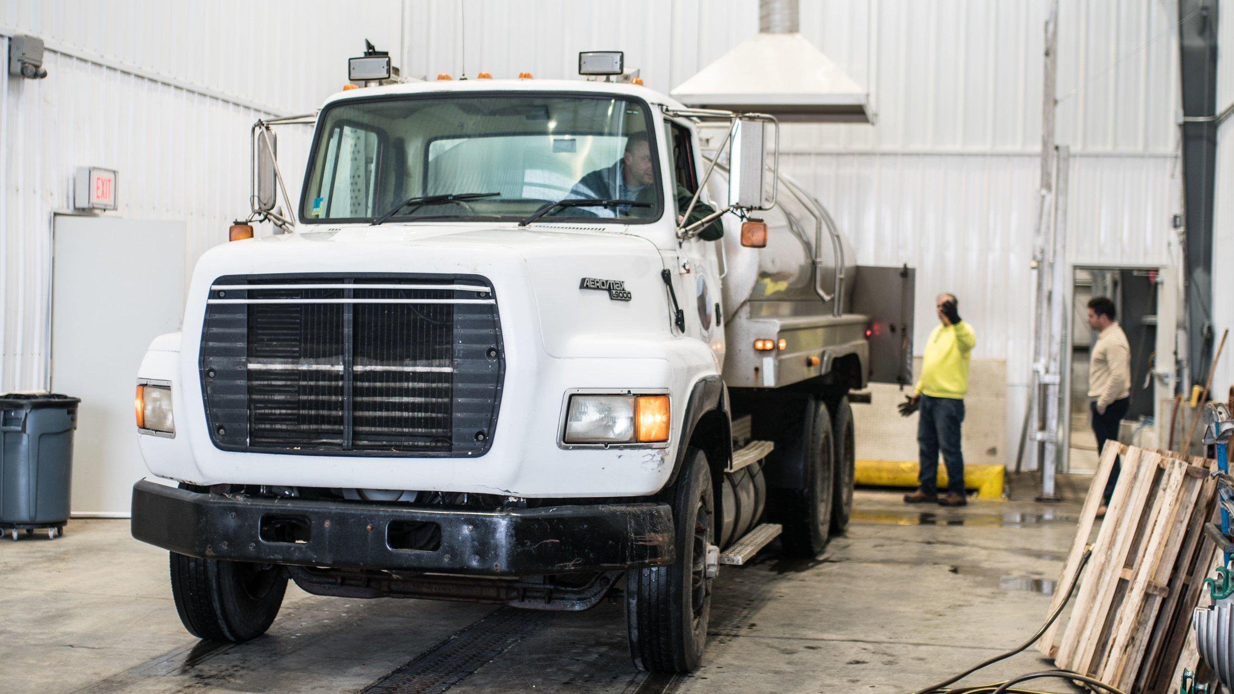 Arethusa Farm Dairy Whey Truck