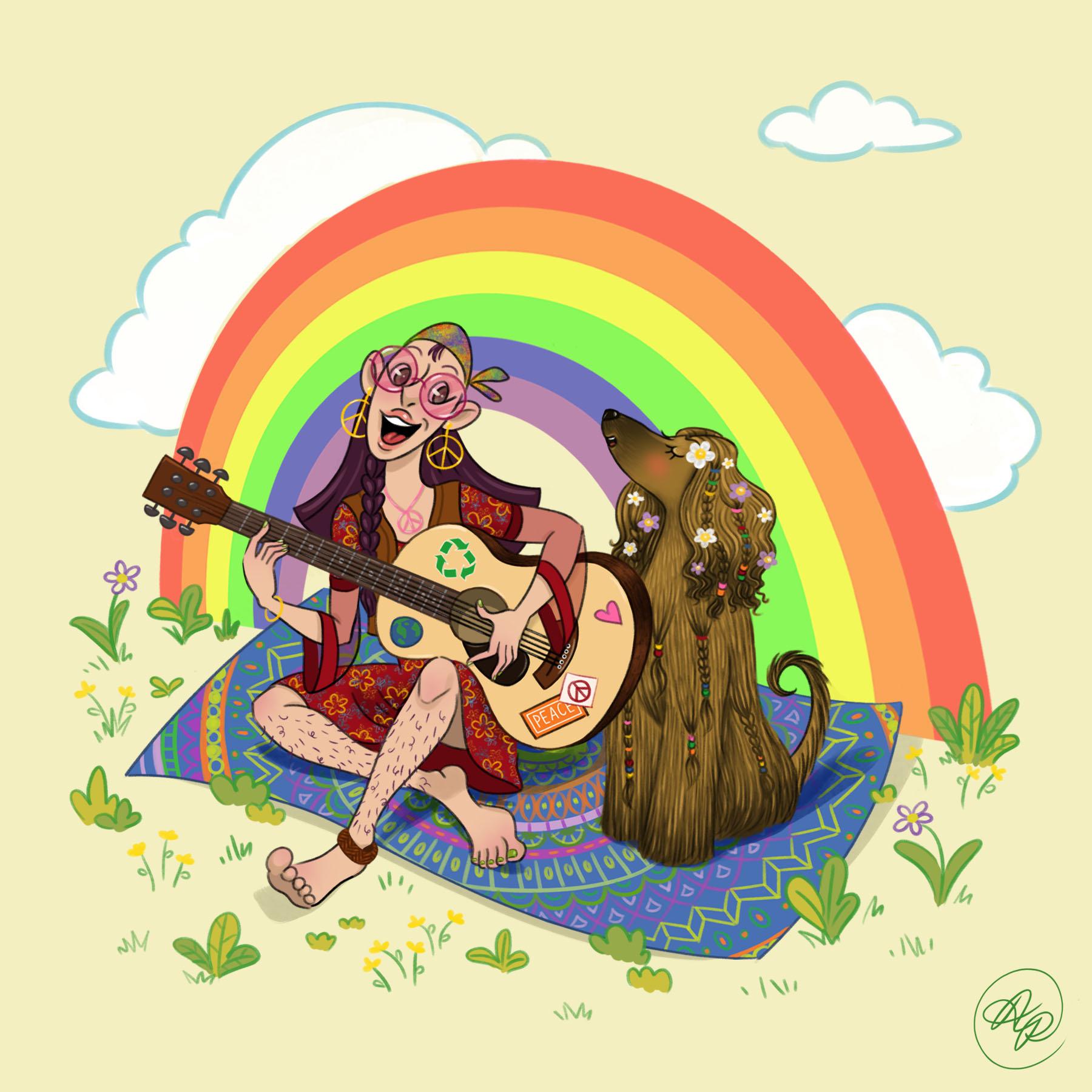 hippie and Afghan hound.jpg