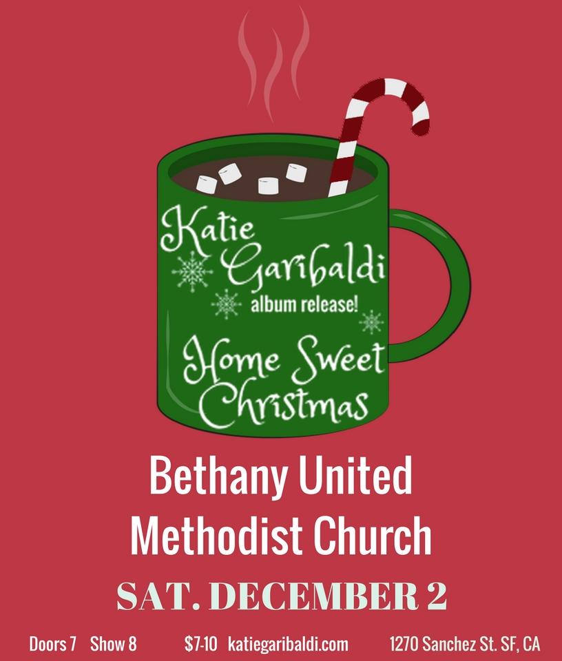 Katie Garibaldi | Home Sweet Christmas | Album Release
