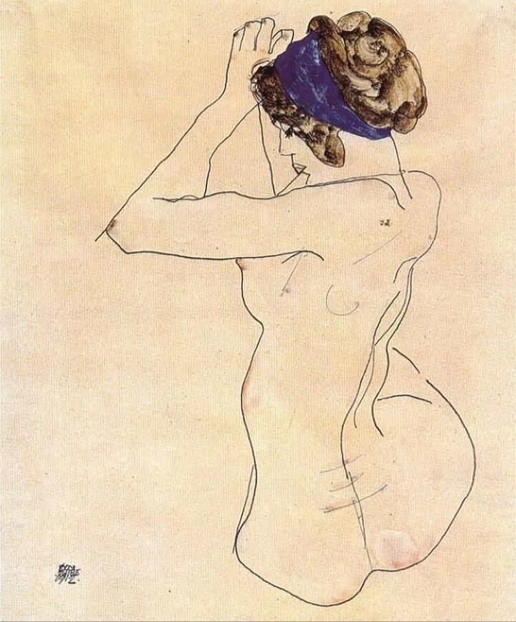 Egon Schiele  @nan_ette