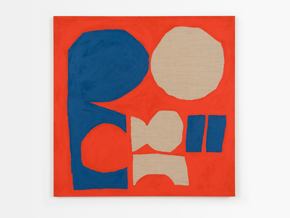 2015 No Way Back (ARCO) acrylic on linen, 36 in x 36 in