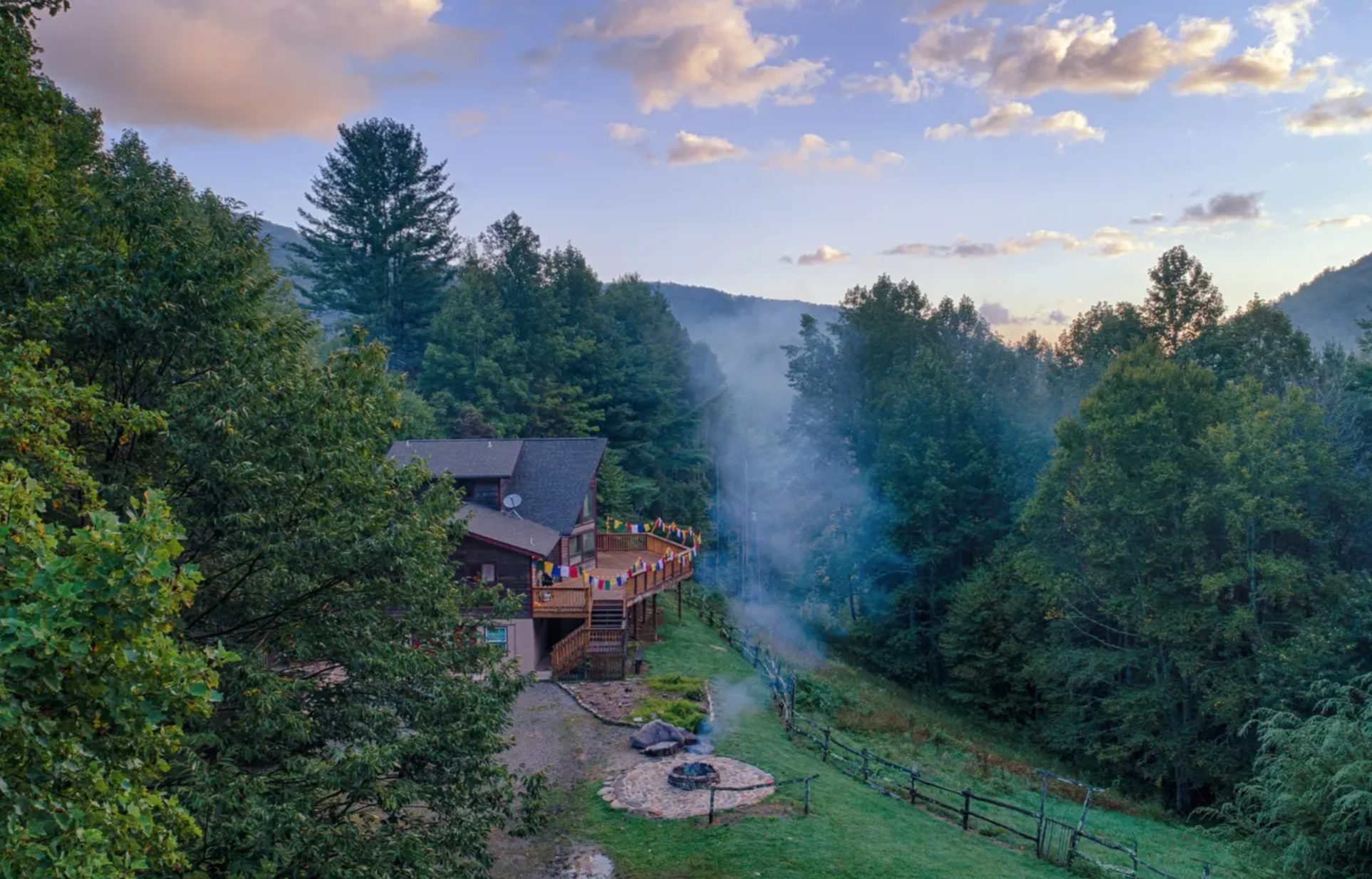 We'll be staying at a beautiful retreat center in the Blue Ridge Mountains, with more than enough room to gather together, and ample space to spread out. -