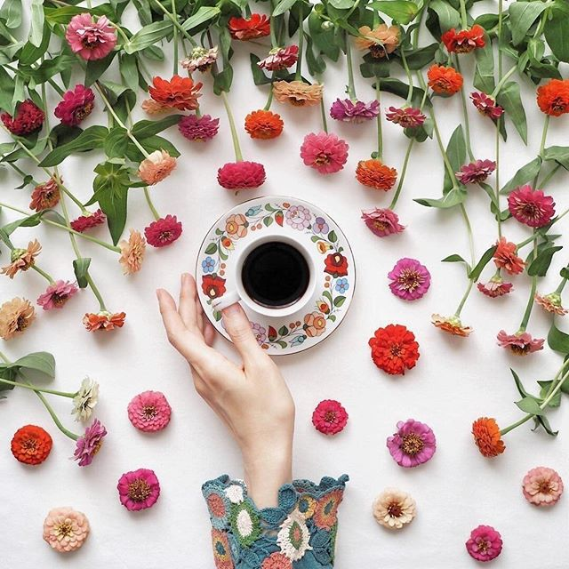happy #nationalcoffeeday 🌼☕️