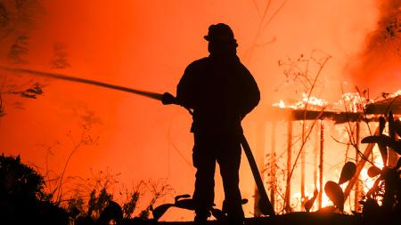 Woosley Fire Damage
