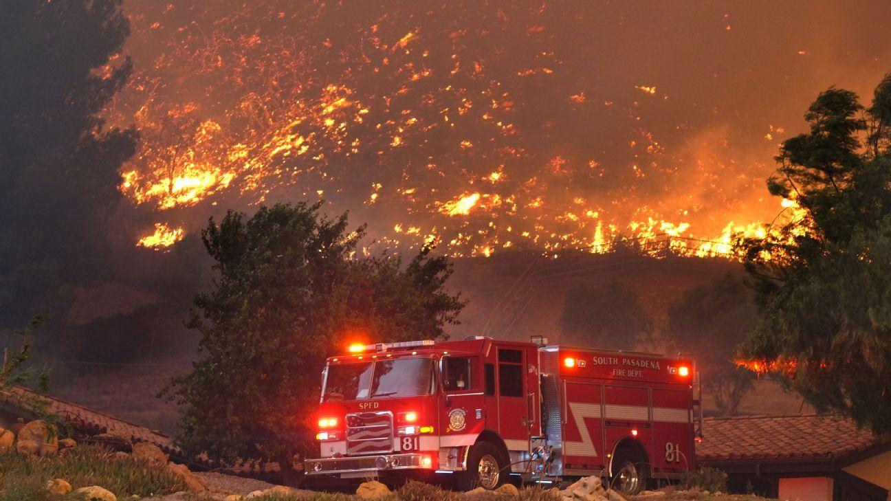 Woosley Fire Thousand Oaks