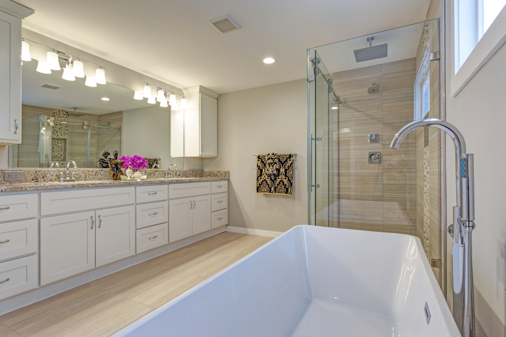 Bathroom Remodeling - Design and build the perfect bathroom for your home. We offer bathroom vanity installation, shower enclosure installation, bathroom tile installation for a custom design not found elsewhere. Get a free estimate for your bathroom today.