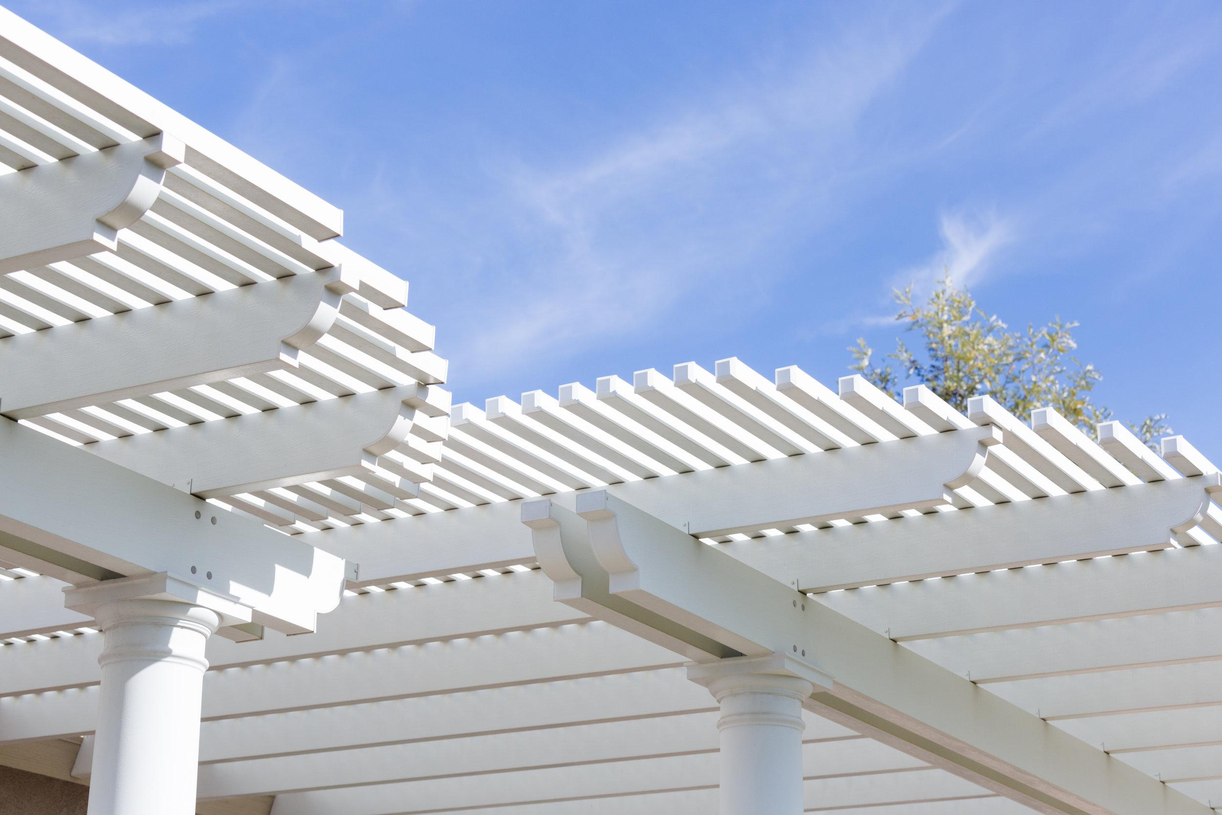 patio cover vinyl white orange county