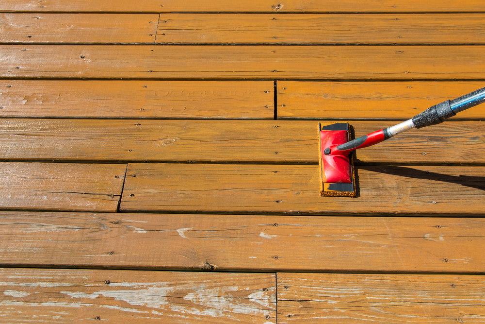 Cleaning & Staining Decks -