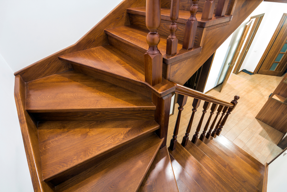 wood staircase design and repair services