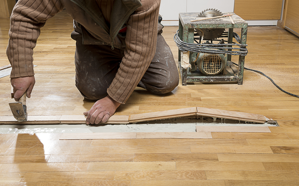 flooring repair contractor