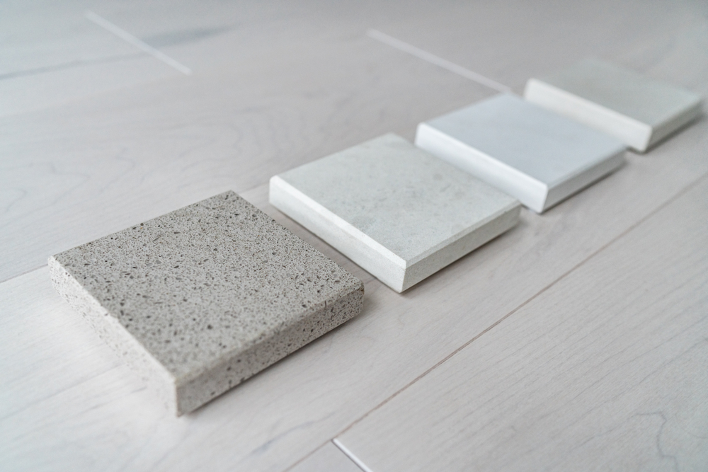 Different countertop styles