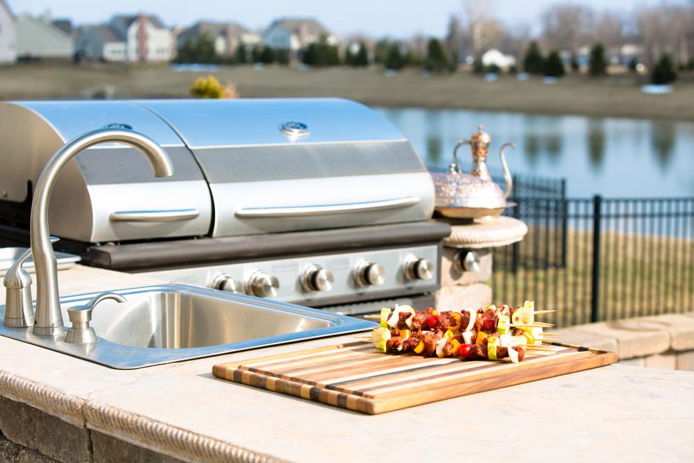 Outdoor Kitchen Design Santa Monica