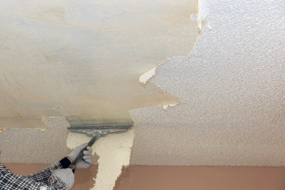 Popcorn Ceiling Removal Los Angeles Ca Acoustic Ceiling Removal Inner City Skyline