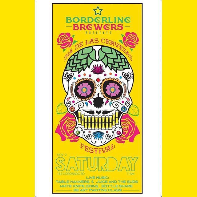 We're not just playing tomorrow, but also Nov 2nd! Borderline Brewers Dia de las Cervezas Fest & Haus Party is going down! Super rad event, and it's gunna be fun Aye Eff! . . . . . #postpunk #postrock #indie #indierock #rockandroll #emo #emorock #dadbodsquad #elpasomusicscene #graphicdesign #graphicdesigner #ライブ音楽 #recordingartist #elpasomusicscene #tablemannerseptx #tablemanners #elpasomusicscene