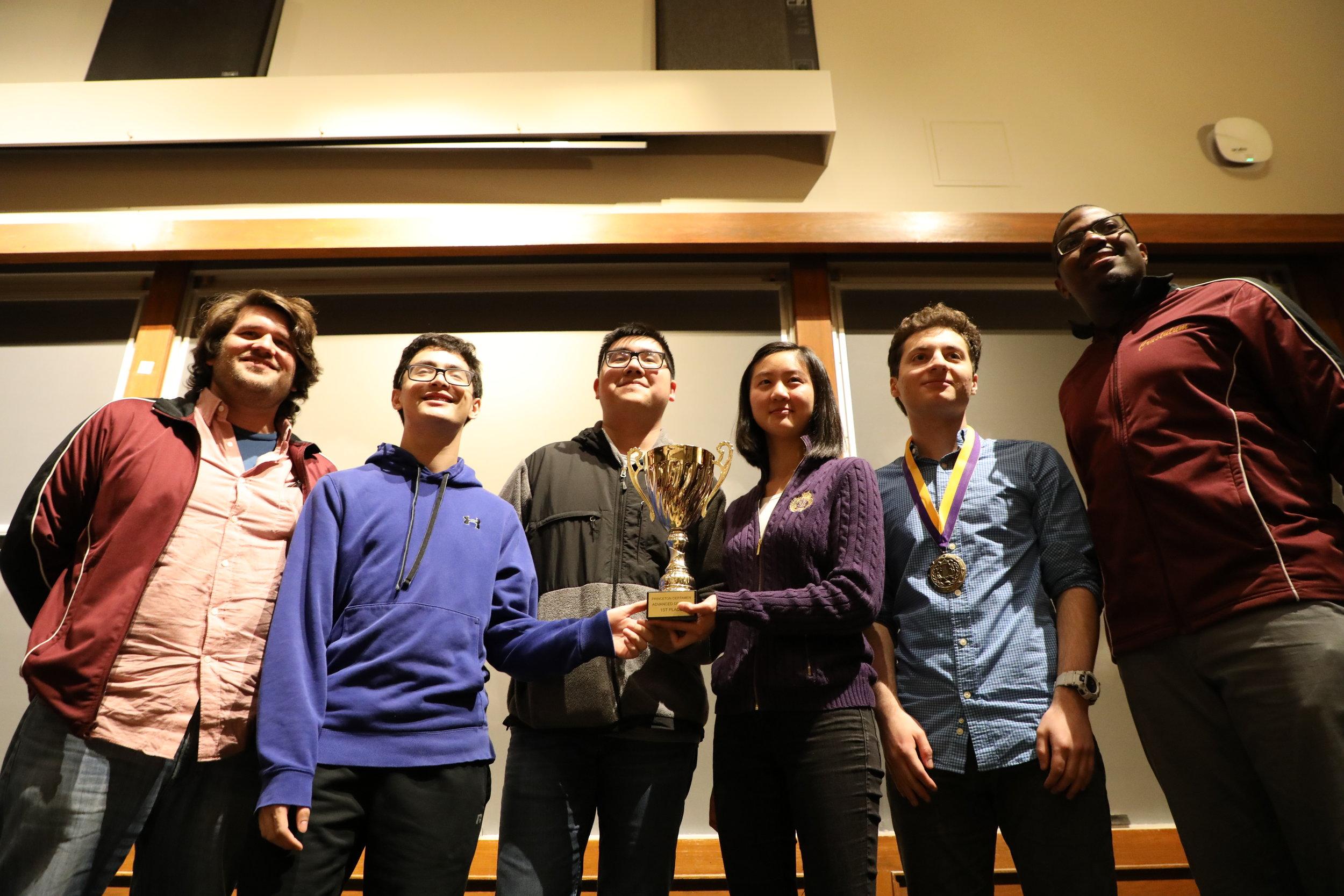 Boston Latin School (MA) - 1st Place Advanced Division 2018