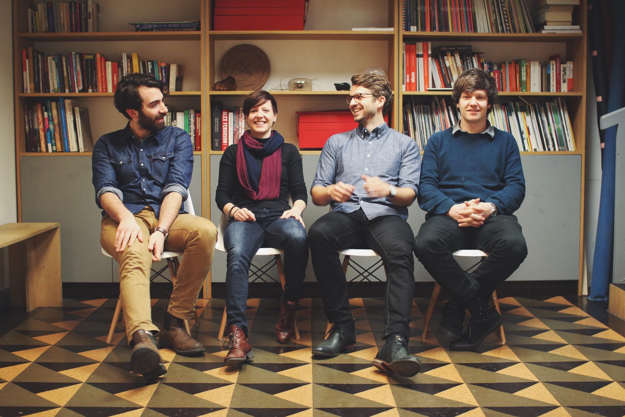 The Morrama team in 2016: Mike, myself, Rob & Michael.