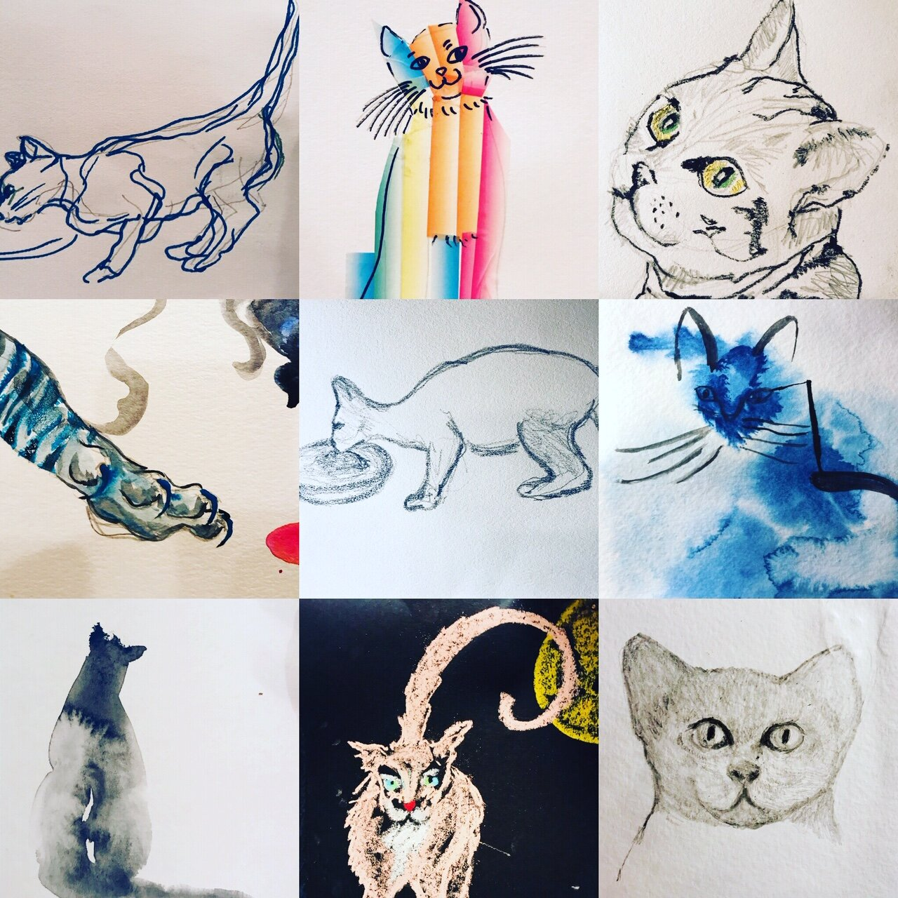 The Art of Cats -