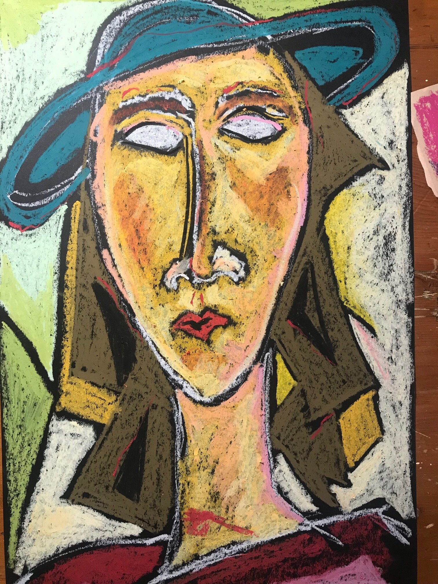 Who is Modigliani, and, why the long face? -