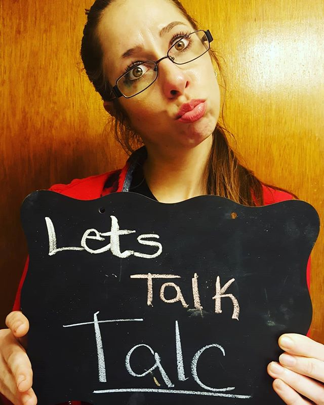 """Lets talk about TALC!  Talc is a mineral naturally occurring & mined from the earth, composed of magnesium, silicon, oxygen, and hydrogen. Chemically, talc is a hydrous magnesium silicate with a chemical formula of Mg3Si4O10(OH)2. Talc has many uses: cosmetics, personal care products, food, and in manufacturing tablets (who knew). It is used to absorb moisture or prevent caking, it helps make makeup opaque or improve the product feel. What is worrisome is the largest contaminant is asbestos a known carcinogen thought to be linked to the increase in ovarian cancer. The literature suggesting this goes back to the 1960s, but no direct link or risk factors have been determined since. (maybe an interesting research project for someone). How does asbestos get in the talc?  Asbestos is also naturally occurring and both talc & asbestos may be found in close proximity in the earth.  A recent story circulated in the news about a USA tween store called CLAIRE's where 3 products were recalled after a study confirmed the presence of asbestos in their facial powder, blush and eye shadow palette. Scary stuff. What surprised me was finding out that the FDA doesn't have the legal authority to approve cosmetic products & ingredients (other than color additives) before they go on the market. We trust the manufacturer/distributor of a cosmetic to take care of this because they are legally responsible for ensuring that a marketed product is safe when consumers use it according to the directions in the labeling or in the customary or expected way.  In essence the FDA in the states have been cut off at the knees when it comes to makeup and it is our responsibility to be informed and safe with what we purchase. So maybe you know this and feel safer getting your products labeled """"organic"""" or """"natural""""? Unfortunately, this is no guarantee its safe either. Talc, asbestos, shoot even mercury is all natural, so these labels mean nothing in the realm of safety.  The More You Know, The More You G"""