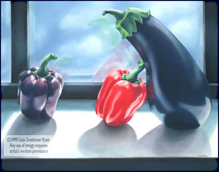 ONE EGGPLANT TWO LOVES