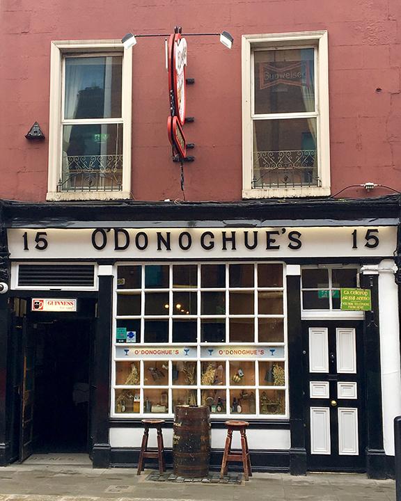 O'Donoghue's Pub, Dublin