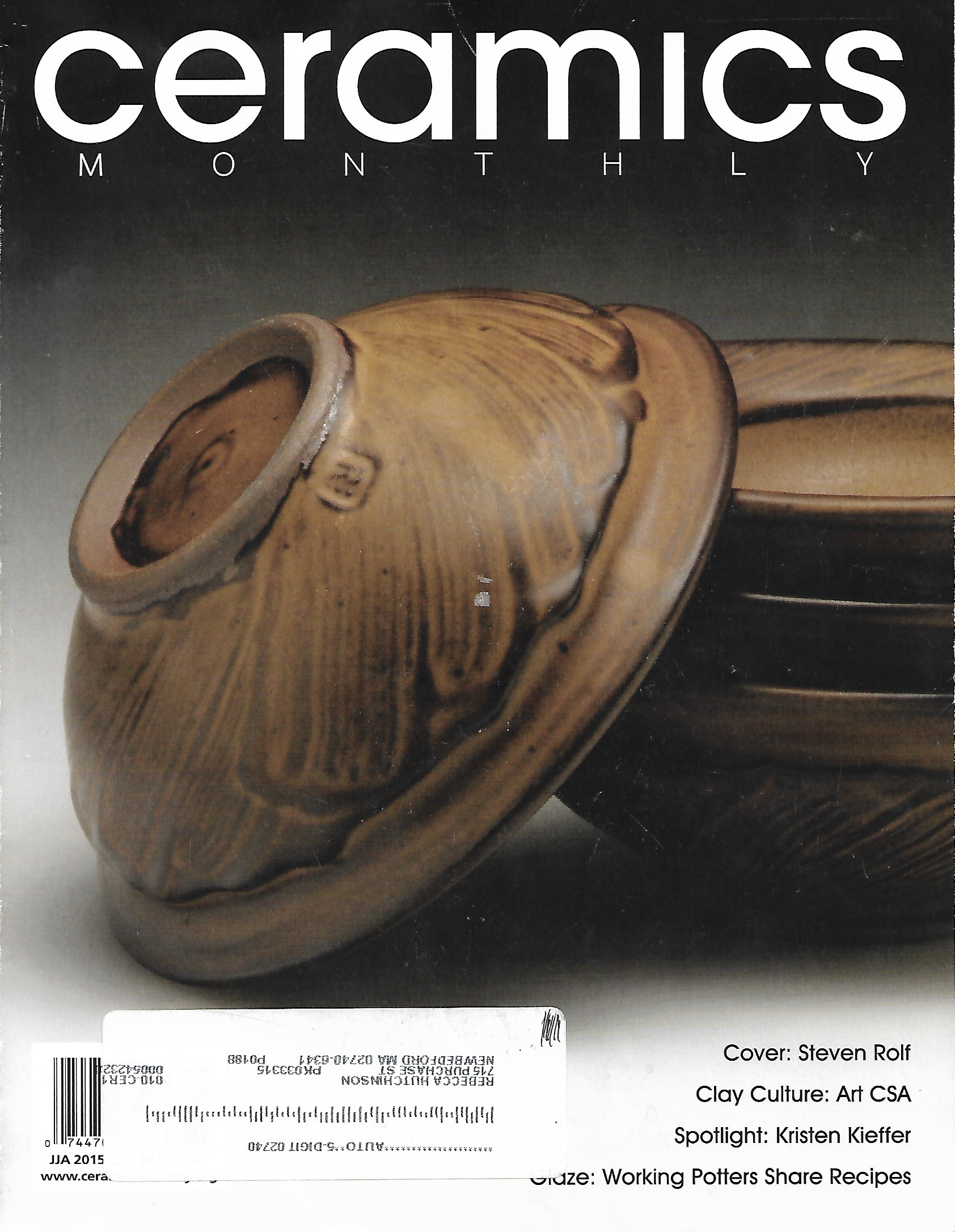 © Ceramics Monthly