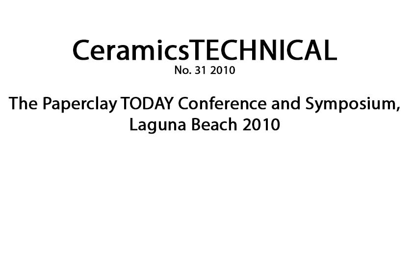 © Ceramics Technical