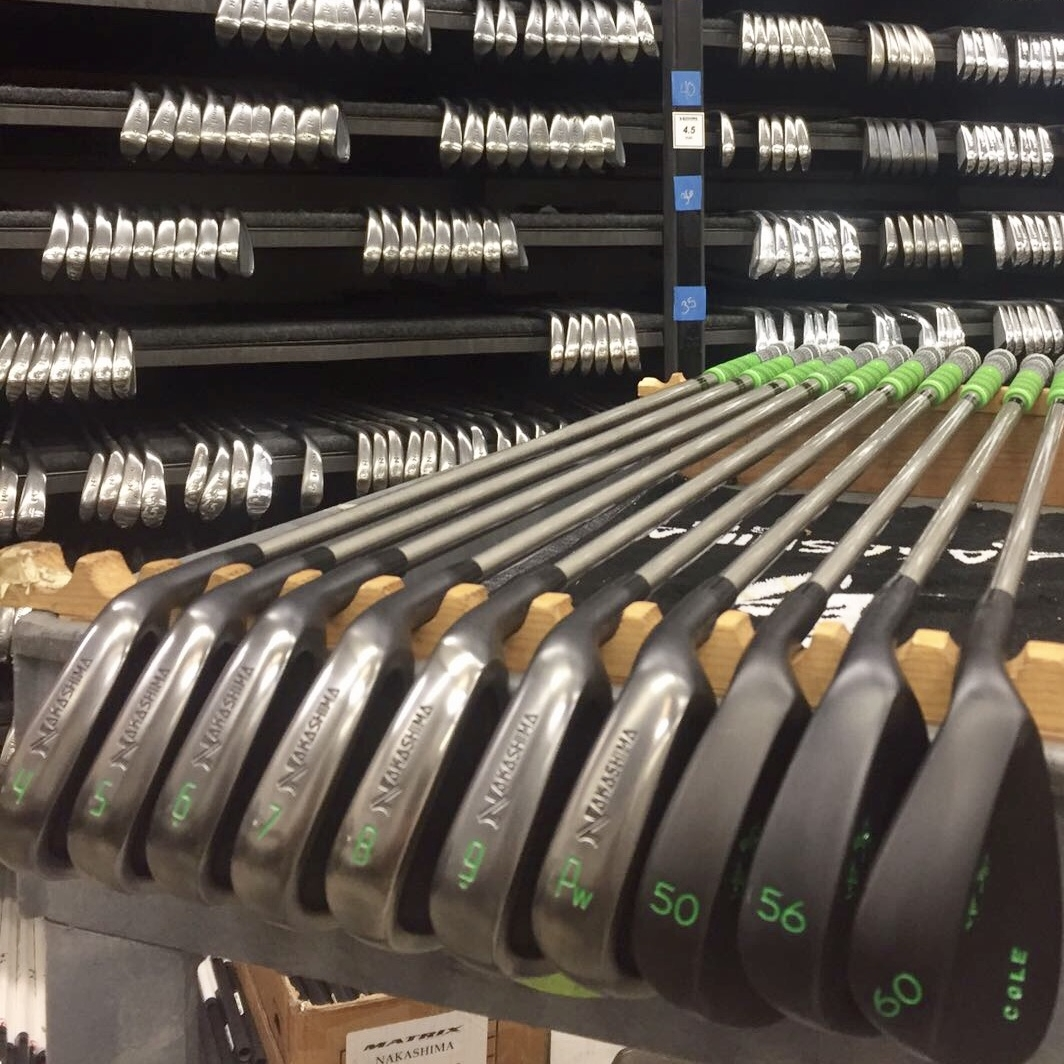NP2+ Tour Forged Irons + Black Ninja Wedges