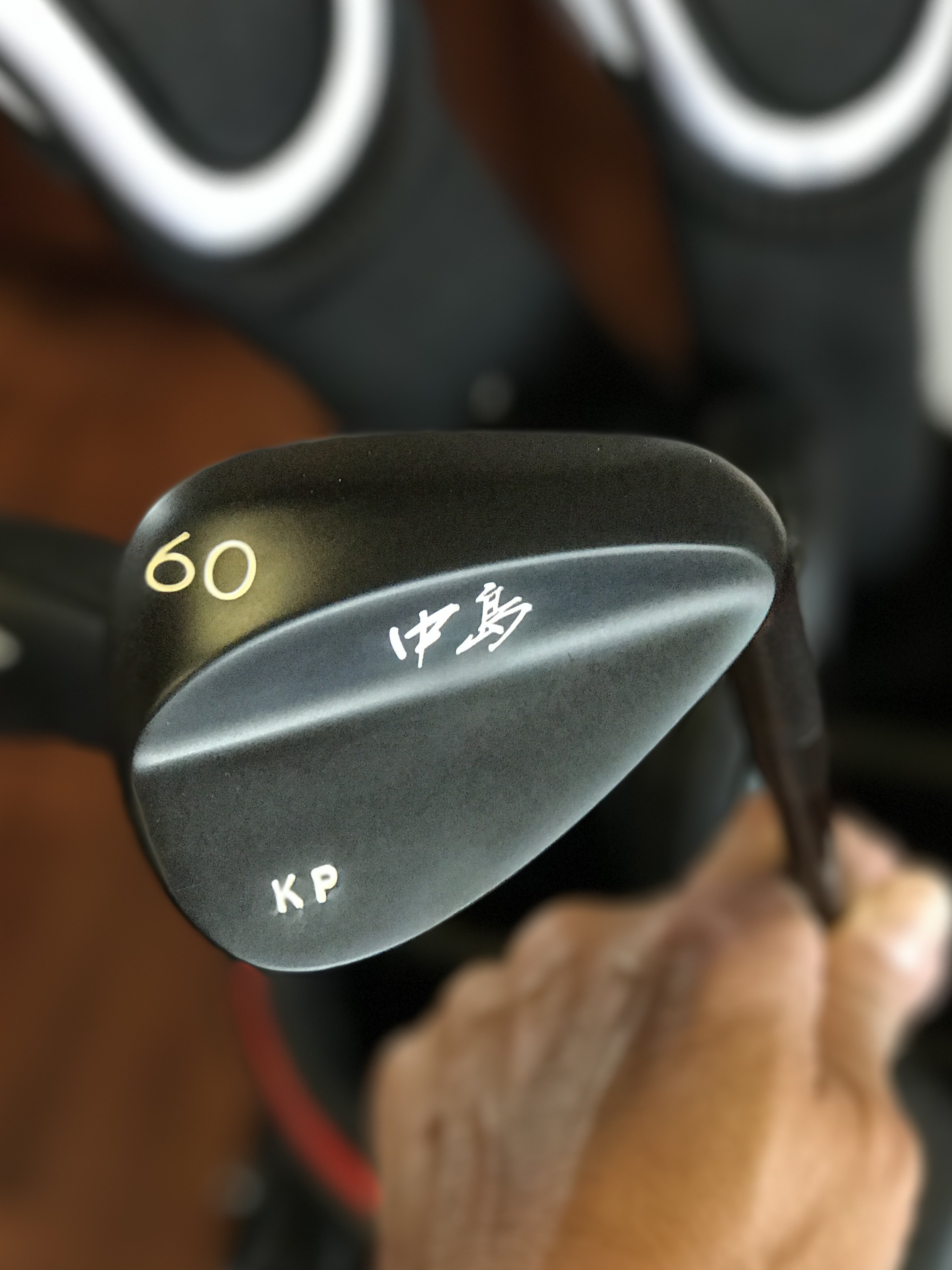 Black Ninja TG60 Wedge (TG=Tour Grind)