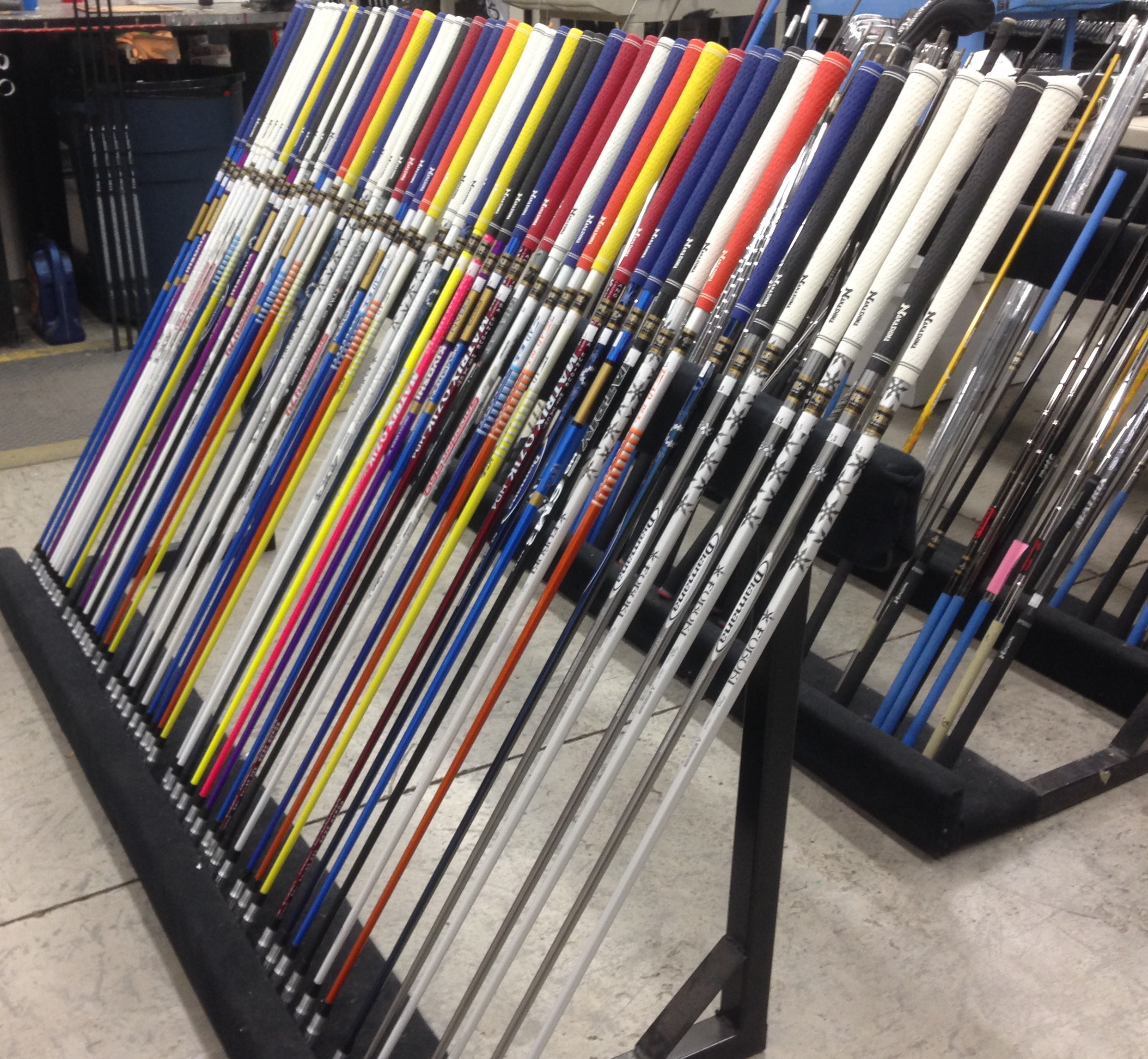 Nakashima Golf Studios have all top shafts used on the PGA and LPGA Tours. Graphite Design, Fujikura, Matrix, Mitsubishi, Oban and more. 500+ shaft in stock to try, test and buy with Nakashima Fit & Play Technology.