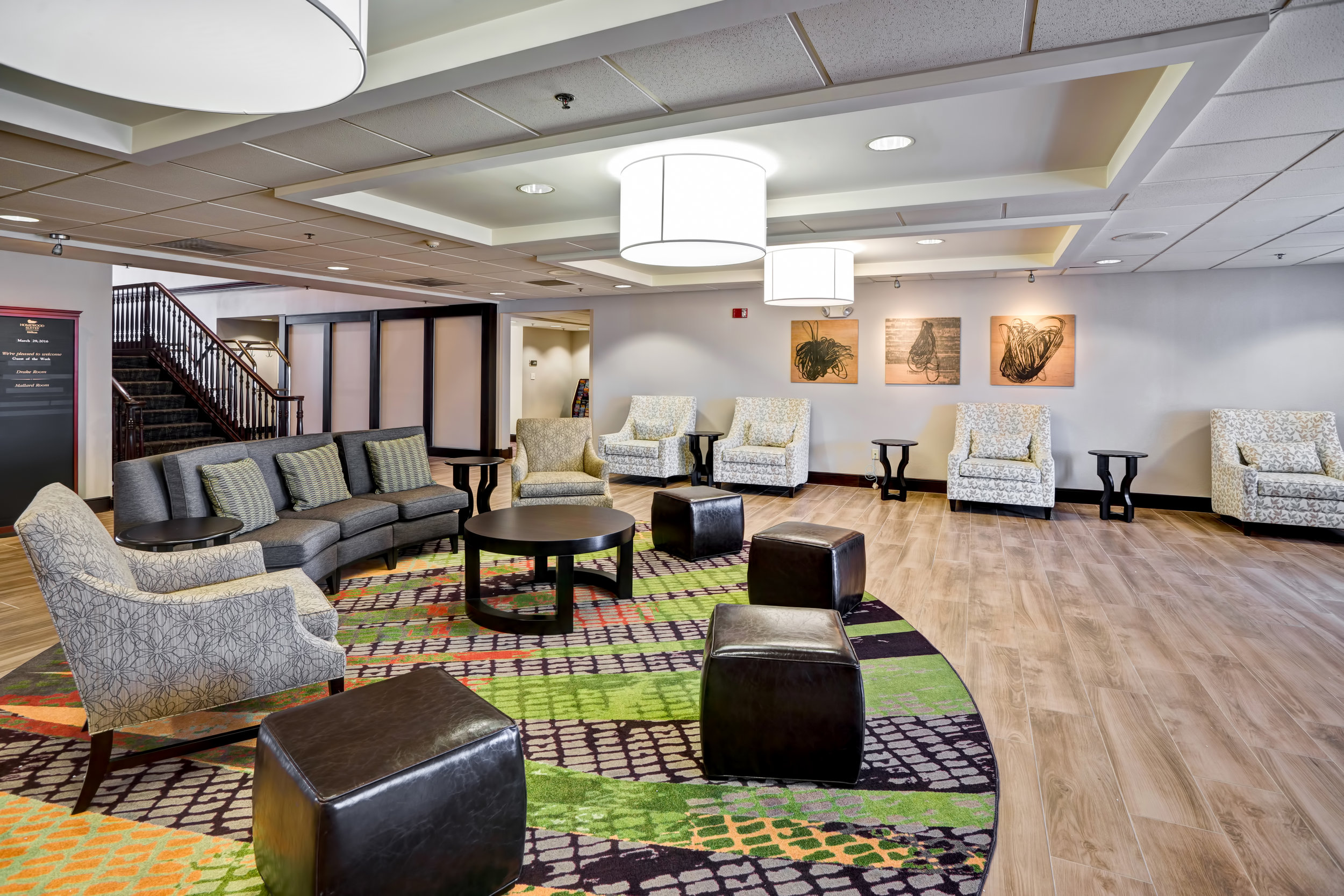 Homewood Suites by Hilton Baltimore Lobby