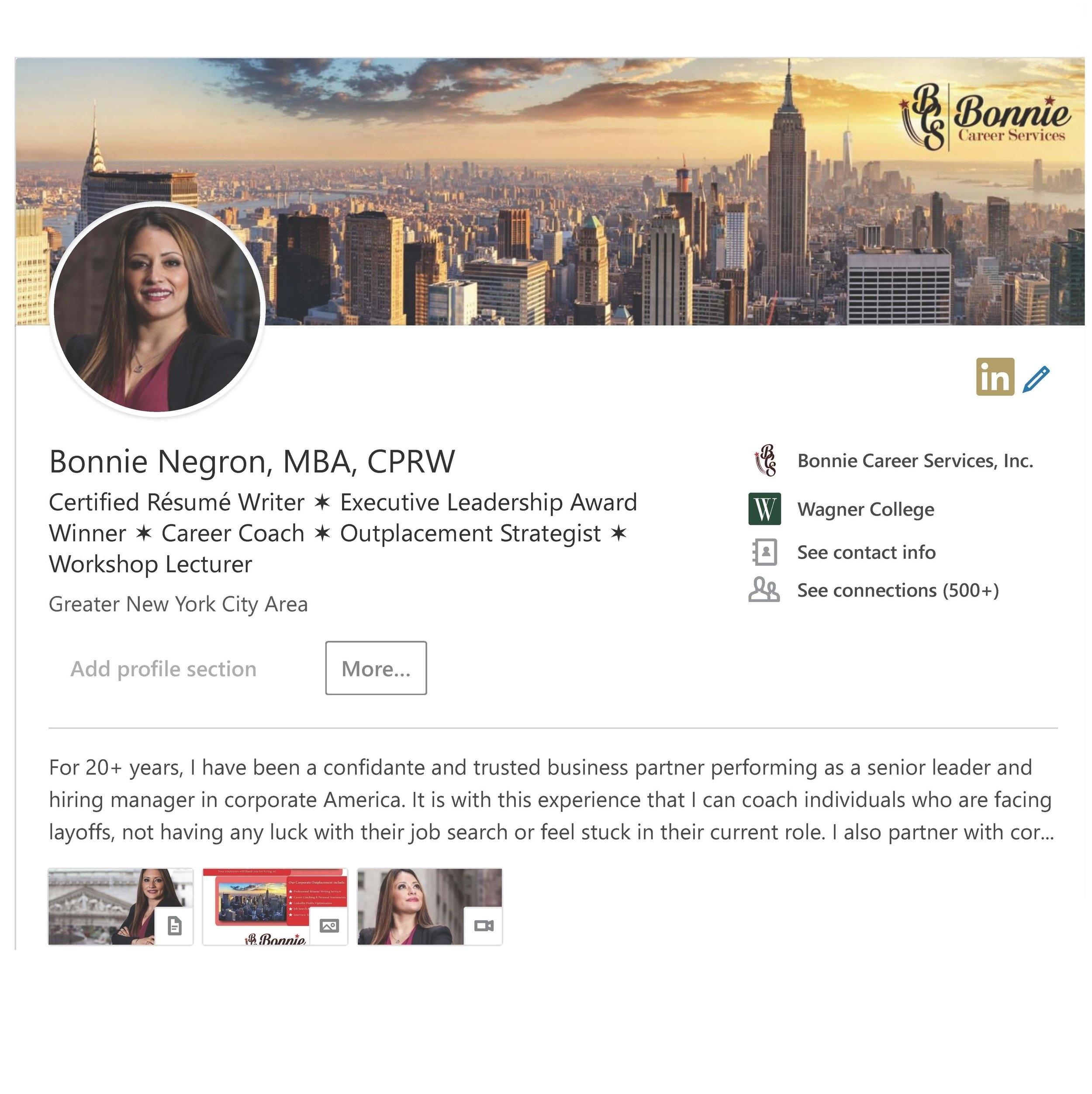 LinkedIn Profile Optimization -