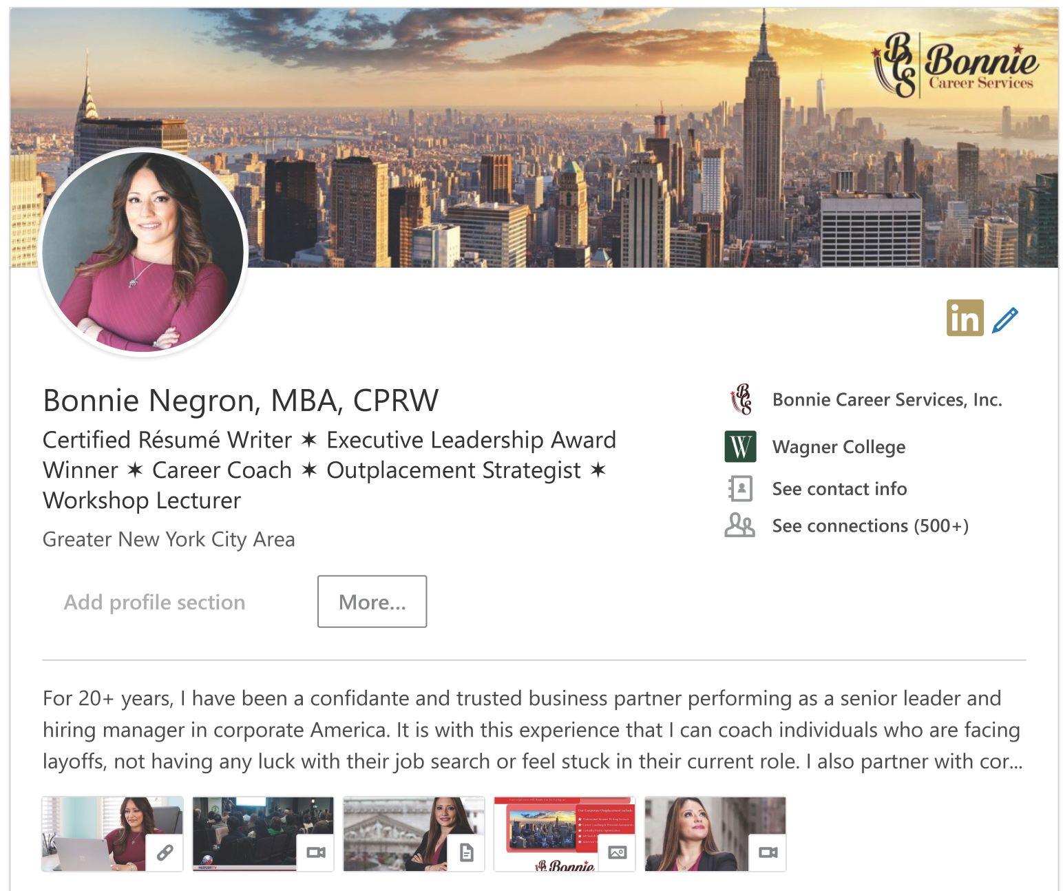 Bonnie Negron, MBA, CPRW _ LinkedIn2019_Page.jpg