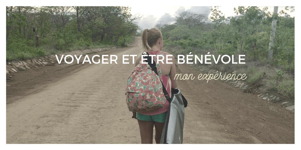 Voyager et être bénévole - mon expérience
