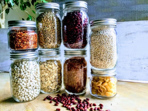 dried food in jars.JPG