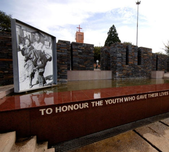 Hector Pieterson Museum while on tour with CPE Conferences