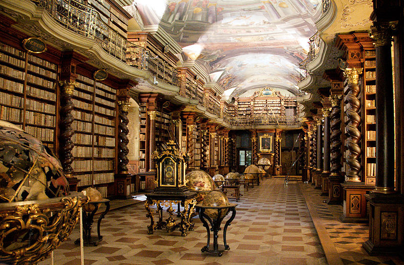 Baroque Library while on conferences with CPE Conferences
