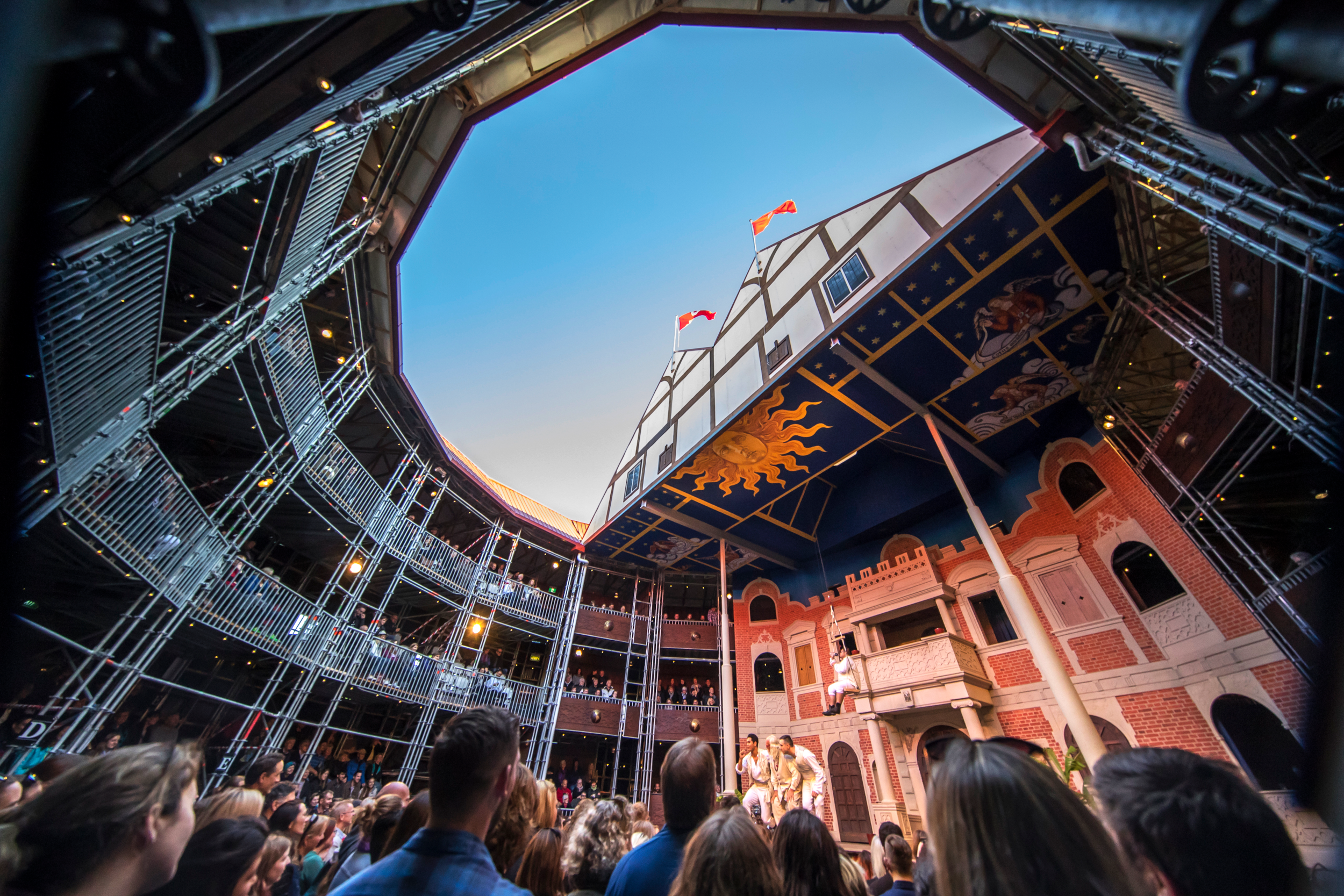 Macbeth at The Globe - the Home of Shakespeare with CPE Conferences group on London Conference