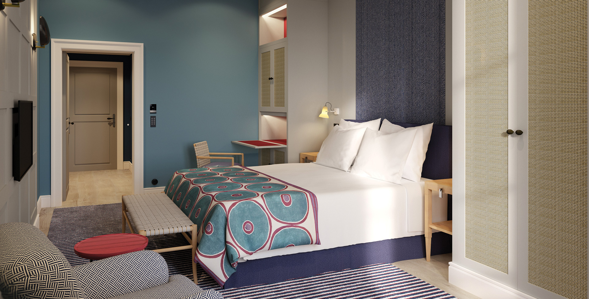 Rooms contracted by CPE Conferences at the Bairro Alto Hotel for the Lisbon Conference