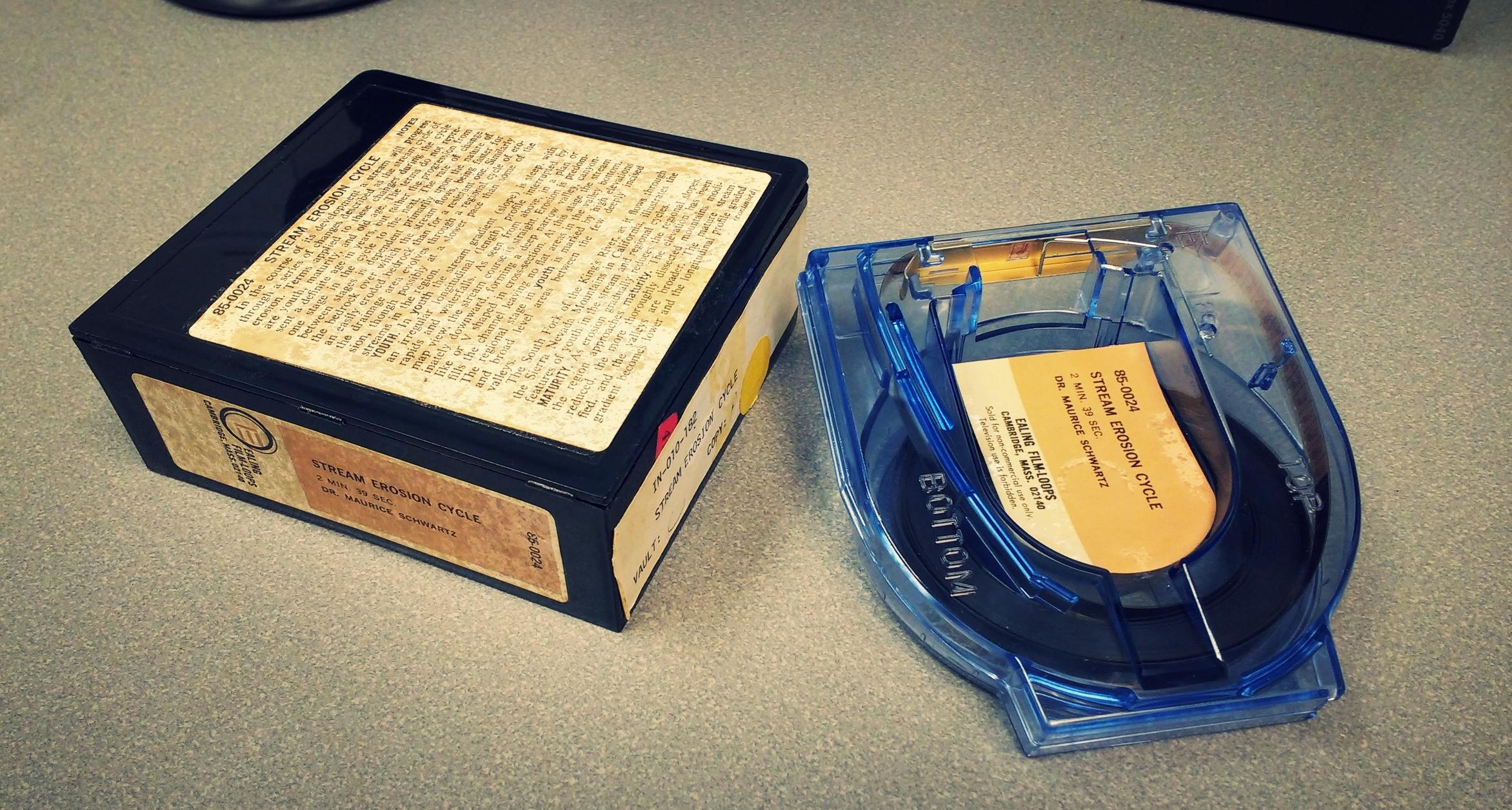 8mm educational film cartridge